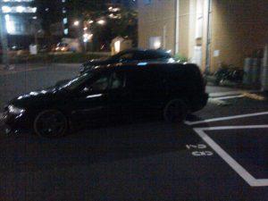 デタラメ駐車